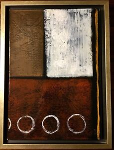 Stephanie Fontaine - Montreal Artist -Hand Painted Oil Original