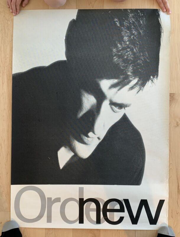 "RARE New Order Low-Life promotional poster 1986 ORIGINAL not a reprint 28"" X 39"""