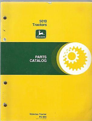 John Deere 510 Tractor Operators Manual Waterloo Tractor Pc-803