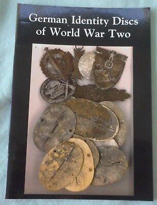 BRAND NEW GERMAN IDENTITY DISCS OF WW2 BOOK