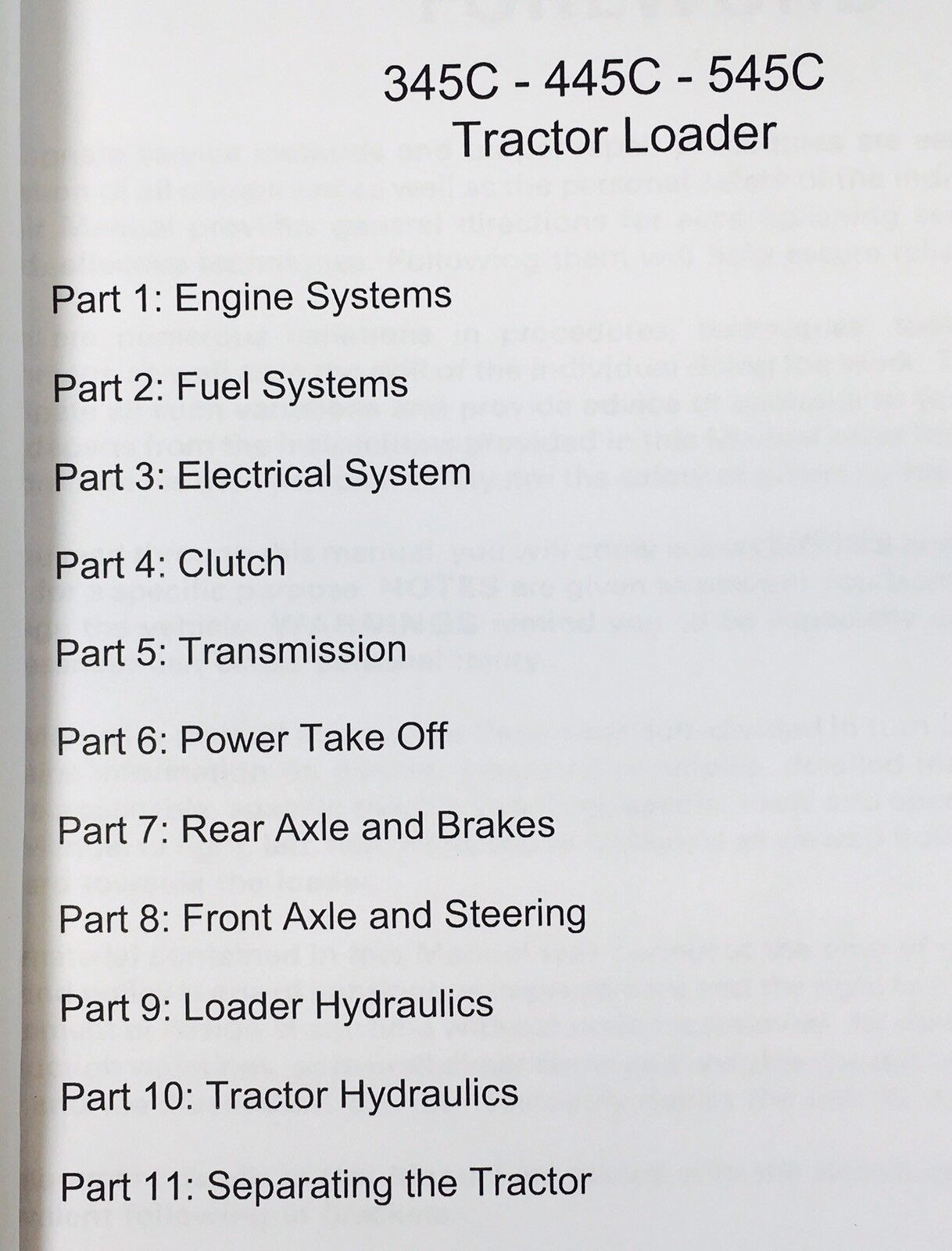345c Ford Tractor Wiring Diagram Library Orders Placed Before Noon Central Time Generally Get Shipped The Same Day 445c 545c Loader Service Repair Manual