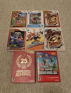 MARIO GAMES FOR NINTENDO Wii