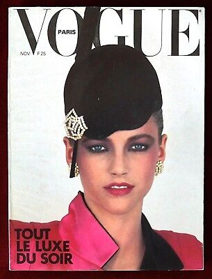 Vogue Paris Magazine ~ #591 November 1978 ~ Guy Bourdin Sarah Moon Horst Bailey