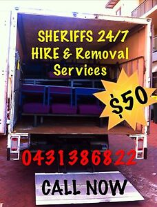 """Mr SHERIFFS"" 24/7 Furniture Removals $50p/h URGENT House Moving Cannington Canning Area Preview"