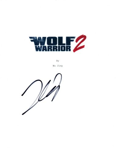 Frank Grillo Signed Autographed WOLF WARRIOR 2 Movie Script Cover COA