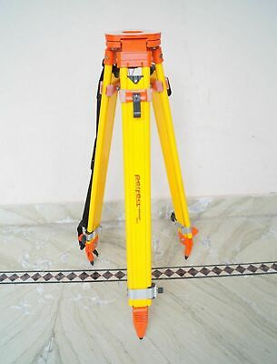 Levels Surveying Equipment Tripod Heavy Duty Dual Lock Aluminum Tripod Stand