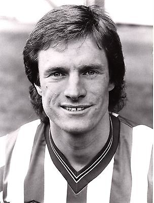 Original Press Photo Sheffield United Mel Eves 6.8.1985