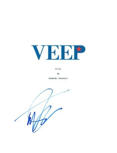 Timothy Simons Signed Autographed VEEP Pilot Episode Script COA