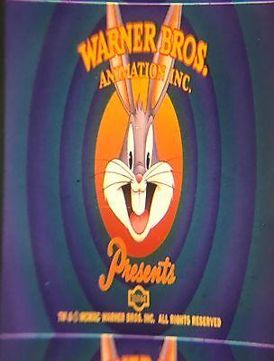 """Box Office Bunny"" Scope Dolby 35mm cartoon Looney Tunes 90's Animation Rare!"