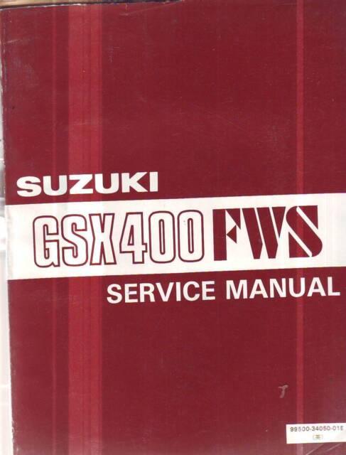 suzuki gsx400f 1981 factory service repair manual