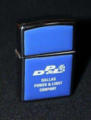 Reddy Kilowatt-Dallas Power & Light Co. vintage Zippo Lighter~Bradford, PA