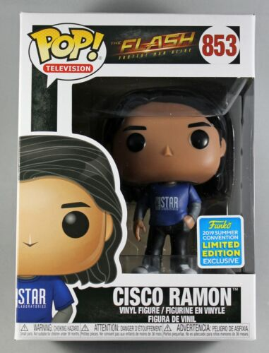 THE FLASH CISCO RAMON CONVENTION EXCLUSIVE FUNKO POP VINYL FIGURE #853
