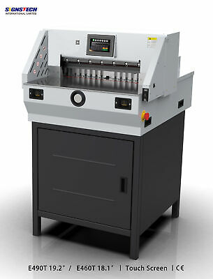 Latest 490mm 19.3 Paper Guillotine Cutter Cutting Machine Programmable Trimmer