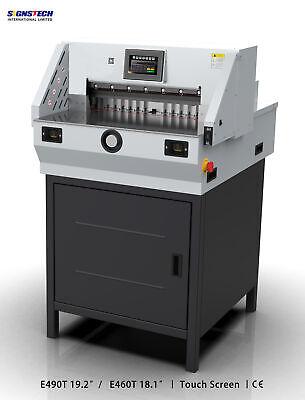 460mm 18 Paper Guillotine Cutter Cutting Machine Programmable Trimmereconomic