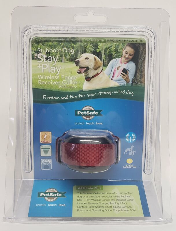 PetSafe Stay & Play Wireless Receiver Collar for Stubborn Dogs - PIF00-13672