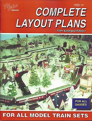 TRACK LAYOUT PLANS For Model Trains (regardless of model, gauge, scale) NEW BOOK