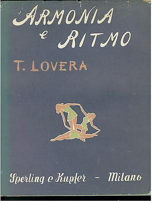 LOVERA TERESA ARMONIA E RITMO SPERLING E KUPFER 1952 DANZA