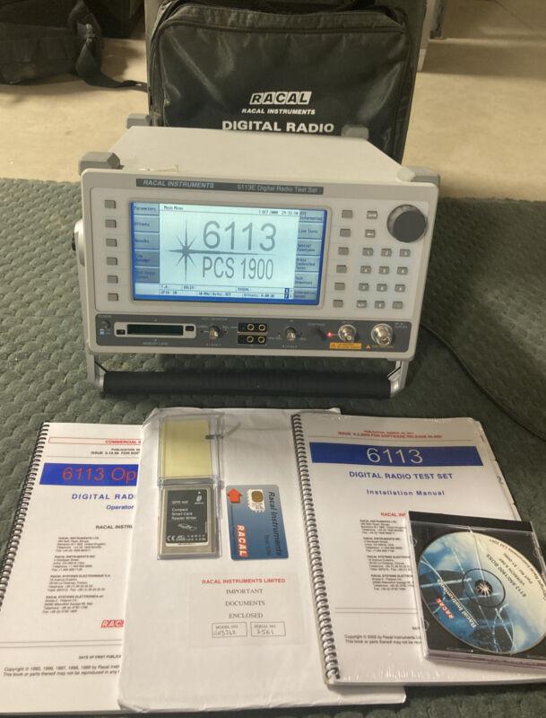 Racal Instruments 6113E Digital Radio Test Set