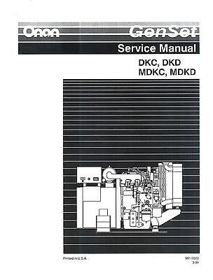 onan generator manual hdkak