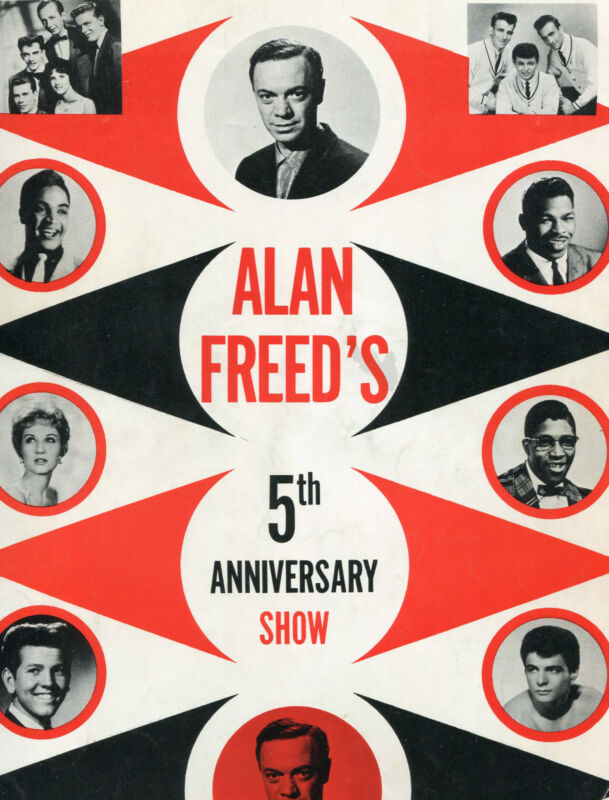 Alan Freed Concert Program 1950