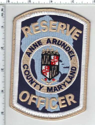 Anne Arundel County Reserve Officer (Maryland) uniform take-off patch from 1980s