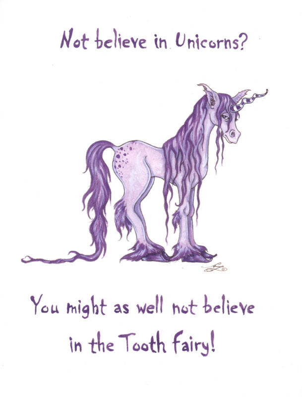 Amy Brown - Not Believe In Unicorns? - OUT OF PRINT