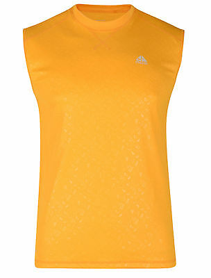 Mens New Nike Vest Tank Top Sleeveless T-Shirt Singlet Base Layer - Orange