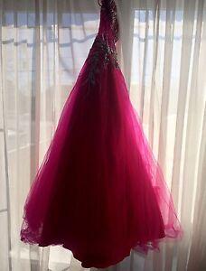 Robe de bal rose à vendre
