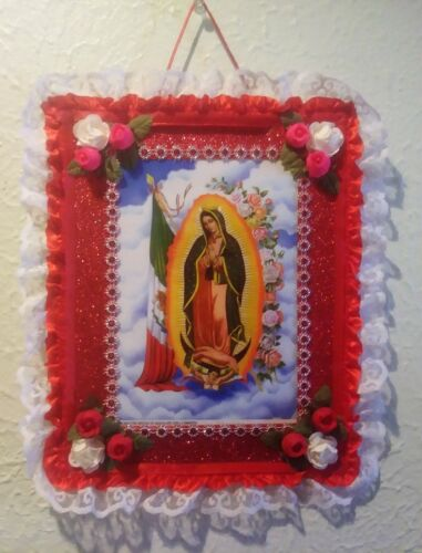 Cuadro Virgen De Guadalupe Artesania - Frame Our Lady Of  Guadalupe Handmade Art