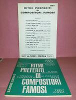 Spartiti - Ritmi Preferiti Di Compositori Famosi - Per Piano - Strum.in Do - Sib -  - ebay.it