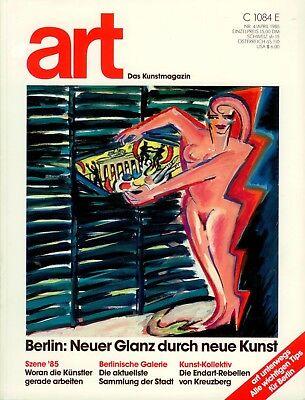 KunstMagazin: art, Nr.4/1985, Gruner+Jahr.