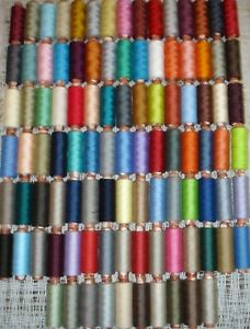 100-SPOOLS-OF-J-P-COATS-SEWING-THREAD-100-POLYESTER