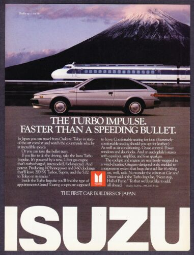 1986 Isuzu Turbo Impulse Coupe & Japan