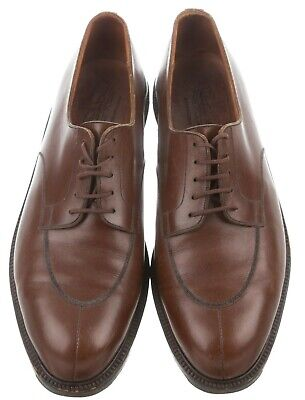 Excellent Condition brown J.M.Weston demi-chasse Shoes in Size 11E UK. RRP £735