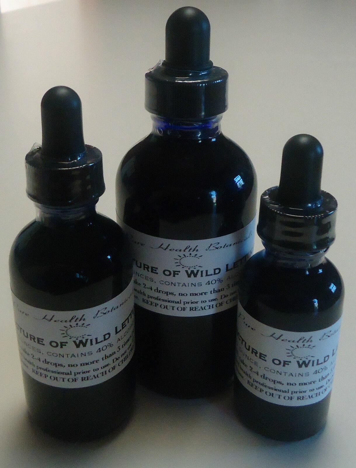 Wild Lettuce Tincture, Extract, Highest Quality And Strength, Multiple Sizes