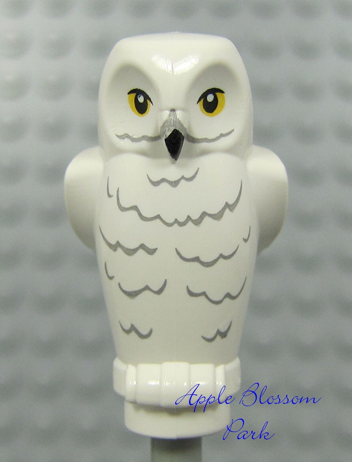 Lego White Owl - Harry Potter Minifig Pet Bird Hedwig -animal W/printed Face