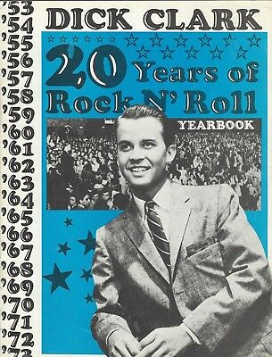 DICK CLARK 20 Years of Rock N' Roll Rare collectable Yearbook 1953 ~ 72 FLAWLESS