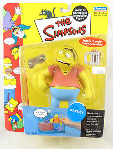Playmates The Simpsons World of Springfield Barney Figure