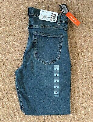 Joe Fresh Dark Blue Denim Jeans Slim Straight Flex In 5 sizes