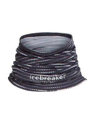 Icebreaker Flexi chute diamond line merino neck tube buff new