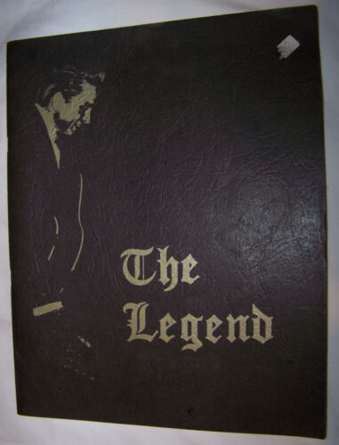 The Legend Volume III Johnny Cash Society 1968 Booklet Fan Club