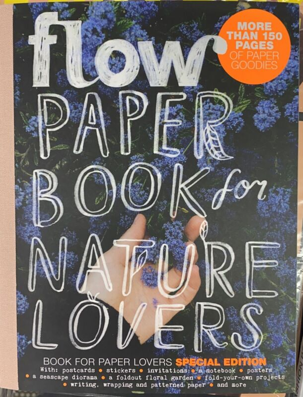 FLOW PAPER BOOK FOR NATURE LOVERS-SPECIAL EDITION-2021-LIMITED-IN STOCK NOW