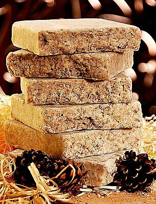 Sunflower Heart Suet Blocks, fat cakes, wild bird food X6  BEST QUALITY