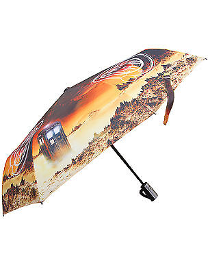 Doctor Who Time Lord TARDIS Umbrella - Official BBC Dr Who Brolly Umbrellas