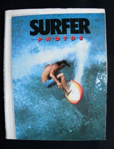 SURFER PHOTOGRAPHY MAGAZINE 1979 HAWAII SURFER