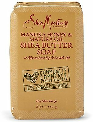 Honey Shea Butter Soap - Shea Moisture Manuka Honey - Mafura Oil Shea Butter Soap 8 oz