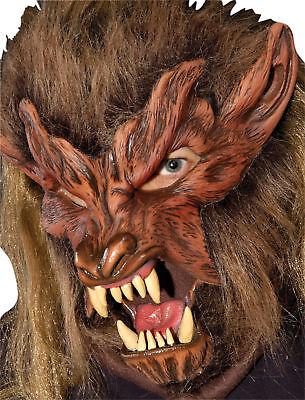 Lone Wolf Latex Maske Wolf-latex-maske