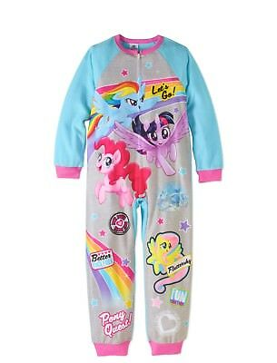 Mlp Pajamas (My Little Pony Blanket Sleeper Pajama Girl Size)