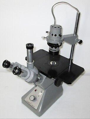 Olympus Ck Tokyo Inverted Trinocular Microscope W 4x 10x 40x Objectives Nice