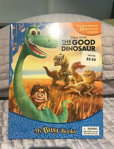 Disney's the Good Dinosaur book and play mat